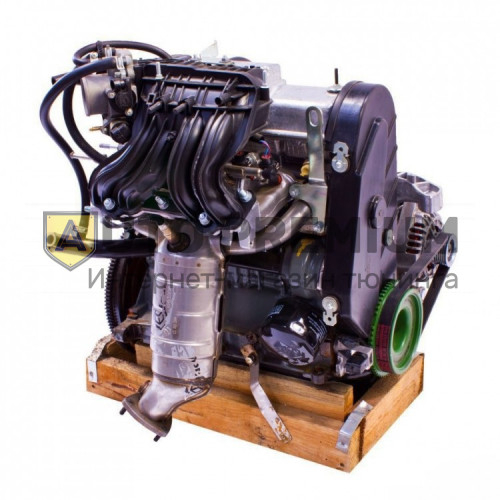 Двигатель ВАЗ 21114-100026080 в сборе для Лада Калина, ВАЗ 2108-15, 2110-12